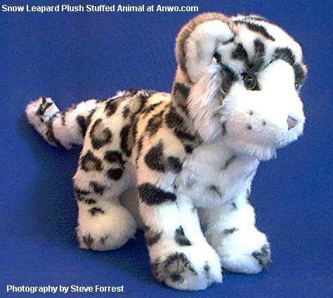 Snow Leopard Stuffed Animal Plush Toy Irbis At Anwo Animal World