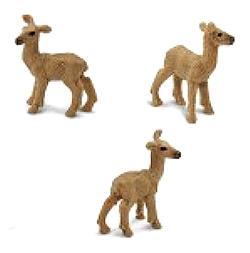 Deer doe toy mini good luck miniature