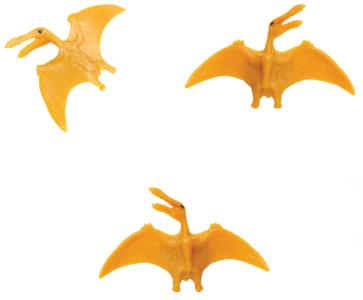 Pterosaur toy mini good luck miniature replica