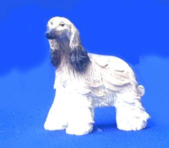 afghan dog figurine