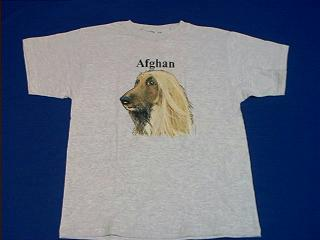 afghan hound t shirt dog breed specific