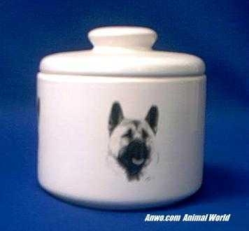 akita jar porcelain