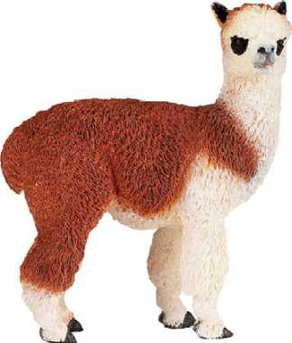 alpaca toy miniature alpaca adult