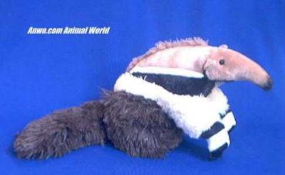 anteater plush stuffed animal cuddlekin