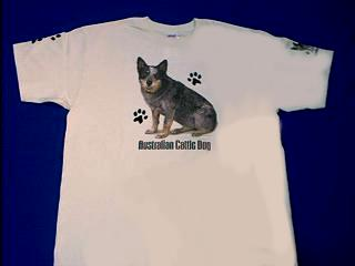 australian cattle dog t shirt