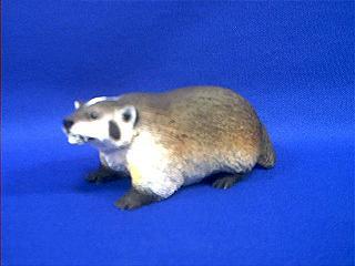 badger figurine
