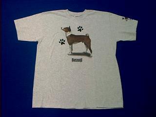 basenji t shirt