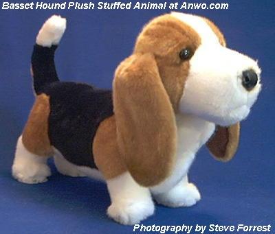 basset hound plush stuffed animal toy