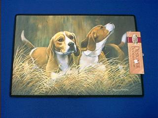 beagle door mat
