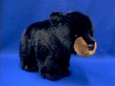 black bear cub stuffed animal plush