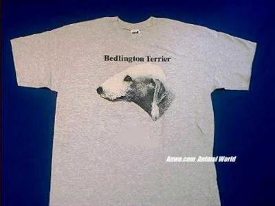bedlington terrier t shirt face