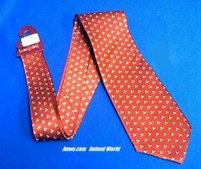 bee necktie bumblebees on red