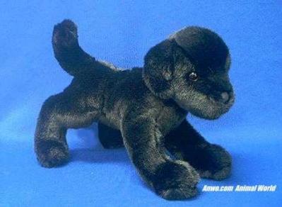 black lab plush stuffed animal brewster