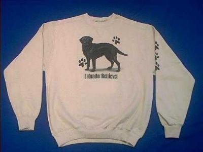 black lab sweatshirt labrador
