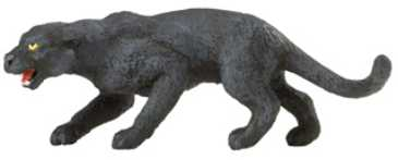 black panther toy miniature