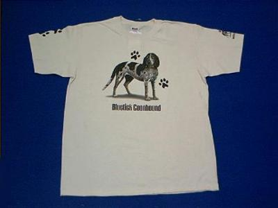 blue tick coonhound t shirt
