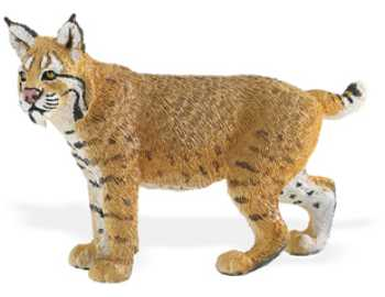 bobcat toy miniature replica safari