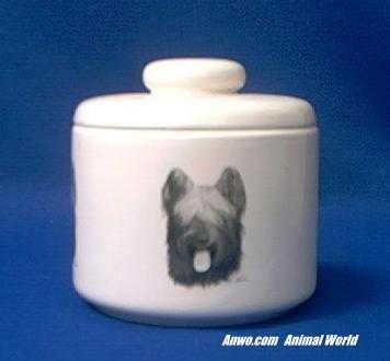 briard jar porcelain
