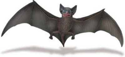 brown bat toy miniature replica