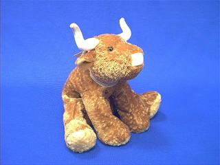 bull plush stuffed animal