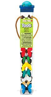 butterfly toy tube miniature butterflies