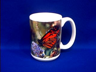 monarch butterfly picture mug