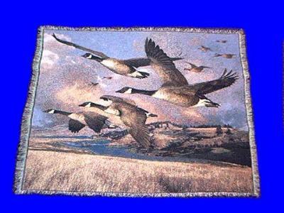 canadian geese blanket