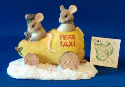 charming tails pear taxi