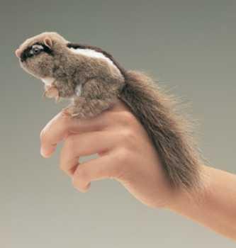chipmunk finger puppet folkmanis