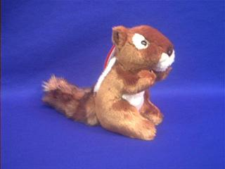 chipmunk plush stuffed animal