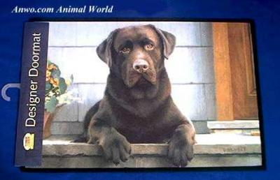 chocolate lab doormat usa