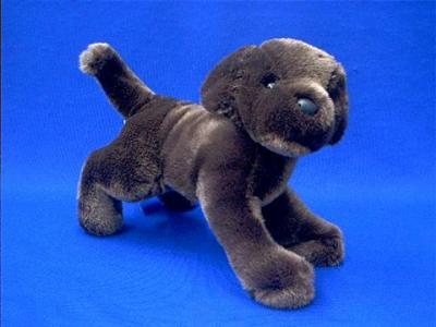 chocolate lab stuffed animal plush