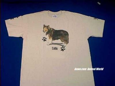 collie t shirt