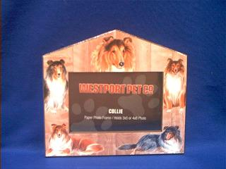 collie picture frame