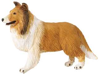 collie toy adult