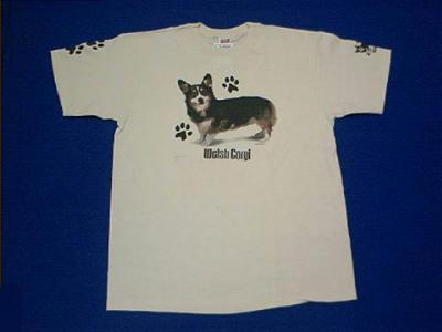 corgi tri t shirt