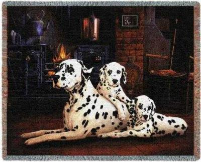 dalmatian blanket throw usa made