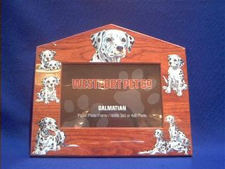 dalmatian picture frame