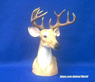 deer head figurine buck