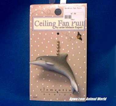 dolphin ceiling fan pull