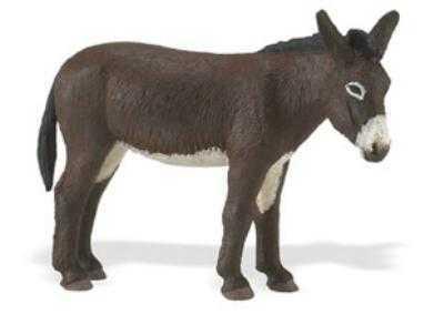 donkey toy miniature safari