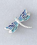 dragonfly jewelry pin