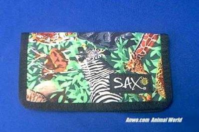 elephant tiger lion checkbook cover