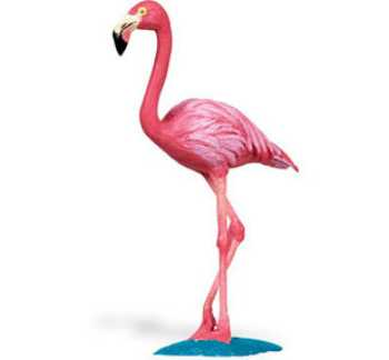 flamingo toy bird miniature