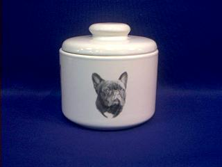 french bulldog jar