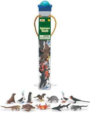 galapagos toy tube animals