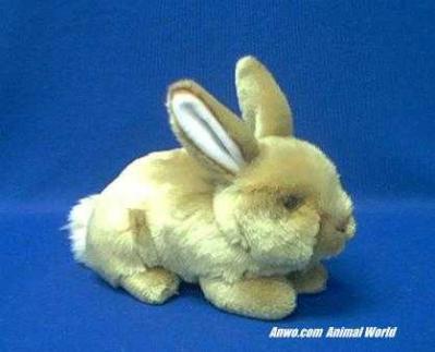 gold tan rabbit plush stuffed animal classic small