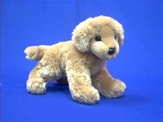 golden retriever stuffed animal plush sandy