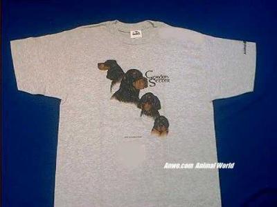 gordon setter t shirt collage