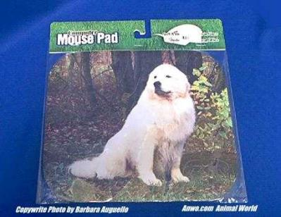 great pyrenees mouse pad